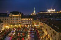 Slowakische Weihnacht in Bratislava