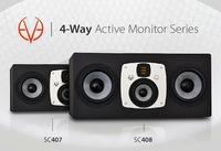 Hauptabhöre mit höchster Präzision: EVE Audio stellt aktive 4-Wege-Studiomonitore SC407 und SC408 mit hochauflösender DSP-Elektronik vor