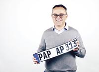 Das innovative 3D-Kennzeichen zeigt, was Kunststoff kann
