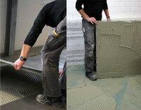 Geprüftes Produktsystem von Lindner GFT und Kiesel - Großformatige Fliesen bis 10 000 cm² auf NORIT-Trockenestrichen