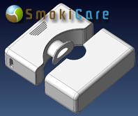 SmokiCare® Das vermutlich kleinste Rauchgas-Fluchtfilter-Set der Welt