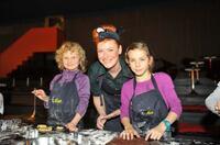 Funkelnde Kinderaugen beim Plätzchenbacken  mit Enie van de Meiklokjes und Land´End