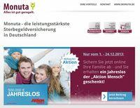 Monuta Weihnachts-Special: Vorsorgen und Gutes tun