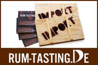 Rum Tasting: Das Weihnachtsgeschenk in Miniatur-Überseekiste