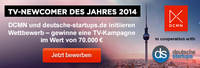 WIN A TV SPOT! TV CAMPAIGN WILL BE DONE BY DC MEDIA NETWORKS