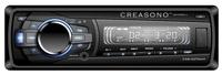 Creasono USB-Autoradio mit App-Fernbedienung/BT/SD/USB