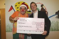 STARFACE spendet 2.000 Euro an Krankenhausclown Dodo