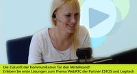 Moderne Videokommunikation für KMU: Logitech und ESTOS intensivieren Zusammenarbeit