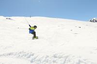 Kinder auf Ski