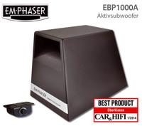 Idealvorstellung: Emphaser Aktivsub EBP1000A überzeugt im Test