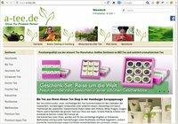 Alveus Bio Tee-Shop mit mobiler App und Onlineshop