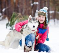 Hunderasse Siberian Husky ist ausdauernd und robust