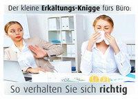 medipresse.de Ratgeber: Erkältung im Büro