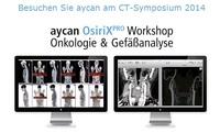 aycan OsiriX PRO Hands-on Workshop auf dem Mehrschicht CT 2014 in Garmisch-Partenkirchen