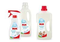 Neu von NUK   Für Sauberkeit und ein gutes Gefühl im Familienhaushalt:  Innovatives Reiniger-Sortiment vom Experten für Babyprodukte