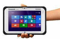 "Weltweit erstes lüfterloses ""Full Ruggedized"" 7"" Tablet mit Intel Core i5 und Windows 8.1 Pro"