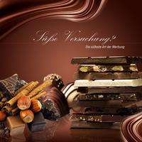Schokolade macht die Seele froh - Süße Werbung wirkt