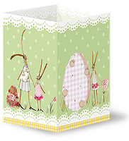 Fröhliche Ostern! - Silke Leffler kreiert feine Papeterie für den Grätz Verlag