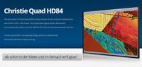 publitec startet ins 4K-Zeitalter  ab sofort Christie Quad HD84 in Miete und Verkauf verfügbar.