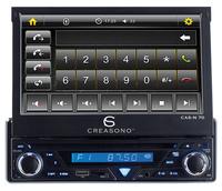 """Creasono 7"""" Touchscreen DVD-Autoradio CAS-N 70"""