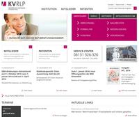 Umgestaltet, modernisiert, optimiert: Die neue Website der Kassenärztlichen Vereinigung Rheinland-Pfalz