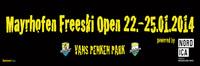 bannerstop ist wieder dabei! Mayrhofen Freeski Open 2014 powered by Nordica Freeskiers