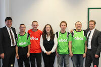 abas spendet Fußballtrikots für die Mannschaften der Lebenshilfe Rastatt/Murgtal e.V.