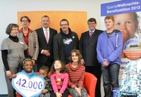 Weihnachts-Benefizaktion der Sparda-Bank Nürnberg bringt 42.000 Euro ein