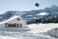 Planmäßige Eröffnung Burton Snowpark  in Damüls