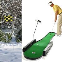 Trotz Eis und Schnee, mit der PUTTING CHALLENGE® erfolgreich Indoor Golf Putts trainieren