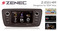 The Zenec Z-E5514M - Navigation System for the Seat Ibiza