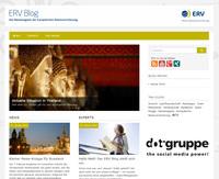 Launch of the ERV Blog (ERGO) - thanks to Social Media Agency dot-gruppe