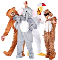 Heißer Karnevals- und Fastnacht-Tipp:  Webpelz-Kostüme und Morphsuits