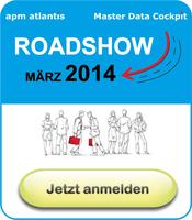 Nie wieder Stammdatenchaos in SAP! realtime Roadshow in Düsseldorf, Hamburg, Frankfurt a.M., München, Stuttgart und Leipzig