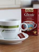 YOGI TEA® nutzt naturstrom