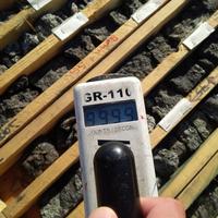 Fission trifft 6,1 m Mineralisierung außerhalb des messbaren Skalenbereiches in 134 m Verbundmineralisierung (Linie 780E)