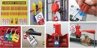 Verriegelungen für verschiedene Gefahrenquellen - Lockout-Tagout