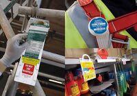 Sicherheitsanhänger mit Kontrollfunktion helfen Arbeitsunfälle zu verringern