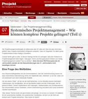 Neue Diskussionsplattform für Projektmanagement online gegangen