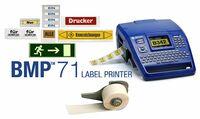 Brady Drucker BMP71  Ein mobiler Drucker der auch für den PC-Betrieb geeignet ist