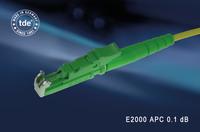 tde E2000 connector: high performance for high-availability applications