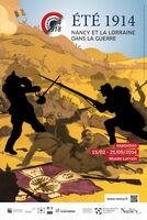 """Historische Ausstellung """"Sommer 1914, Nancy und Lothringen im Krieg"""" ab 15.02.2014 im Musee Lorrain"""