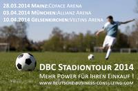 Die DBC Stadiontour 2014
