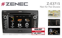 Zenec Z-E3715: Das ideale Camper-Navi für Fiat Ducato
