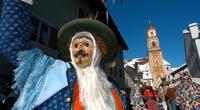 Maschkera - gepflegter Faschingsbrauch im Süden von Bayern