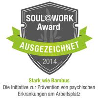 WorkPerformance indicator wird mit dem Soul@Work Award ausgezeichnet