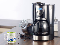 Neu: Kaffeemaschine mit Mahlwerk und LCD