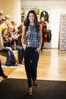 WÖHRL brachte Topmodel Rebecca Mir zum Strahlen