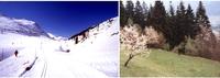 Südlich der Tauern: Schneefreuden und Ostereier