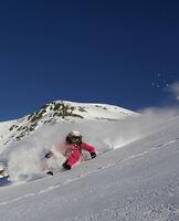 Die weibliche Seite des Freeridens - Alpinunfälle bleiben Männerdomäne